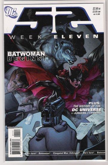 52 WEEK ELEVEN (2006) BATWOMAN-NEVER READ!