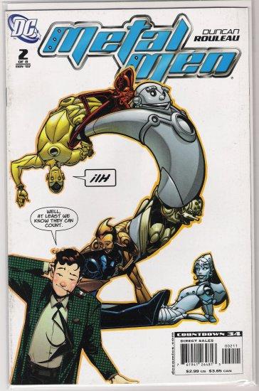METAL MEN #2 (2007)-NEVER READ!