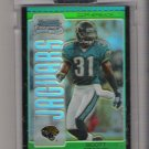 2005 BOWMAN CHROME SCOTT STARKS JAGUARS UNCIRCULATED GREEN REFRACTOR ROOKIE CARD