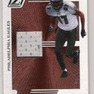 2005 DONRUSS ZENITH TODD PINKSTON EAGLES JERSEY CARD