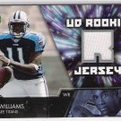 2007 UPPER DECK PAUL WILLIAMS TITANS ROOKIE JERSEY CARD
