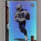 2005 TOPPS PRISTINE CHRIS BROWN TITANS UNCIRCULATED CARD
