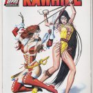 LADY RAWHIDE 1/2 TOPPS COMICS/WIZARD (1996) WITH COA-NEVER READ!