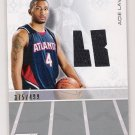 2007-08 TOPPS LUXURY BOX ACIE LAW IV ATLANTA ROOKIE RELIC CARD