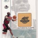 2000-01 SP GAME FLOOR EDITION JERRY STACKHOUSE GAME FLOOR CARD