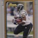 2003 BOWMAN ANDREW PINNOCK CHARGERS UNCIRCULATED ROOKIE CARD