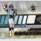 2001 PRIVATE STOCK JAMIE MARTIN JAGUARS GAME-WORN JERSEY CARD