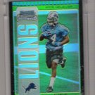 2005 BOWMAN CHROME STEVE SAVOY LIONS UNCIRCULATED GREEN ROOKIE REFRACTOR