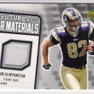 2006 UPPER DECK FUTURE STAR MATERIALS JOE KLOPFENSTEIN RAMS EVENT WORN CARD