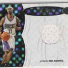 2006-07 BOWMAN ELEVATION T.J. FORD BUCKS BOARD OF DIRECTORS RELIC JERSEY CARD #'D 76/99!