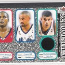 2002-03 FLEER TRADITION SCHOOL TIES SHANE BATTIER GRIZZLIES WARM UP CARD