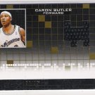 2007-08 TOPPS LUXURY BOX CARON BUTLER WIZARDS MEZZANINE RELIC CARD #'D 56/99!