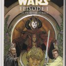 STAR WARS PHANTOM MENACE 1/2 (1999) DARK HORSE/WIZARD WITH COA-NEVER READ!