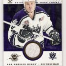 2001-02 PRIVATE STOCK AARON MILLER KINGS GAME USED GEAR JERSEY CARD