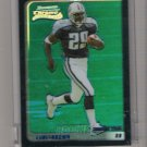 2003 BOWMAN CHROME CHRIS BROWN TITANS UNCIRCULATED BLUE REFRACTOR ROOKIE CARD