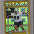 2004 TOPPS CHROME RANDY STARKS TITANS UNCIRCIRCULATED ROOKIE XFRACTOR CARD