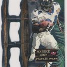 1998 PACIFIC PARAMOUNT WARRICK DUNN PRO BOWL DIE CUT INSERT CARD