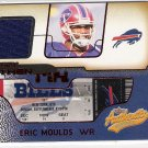 2002 FLEER AUTHENTIX ERIC MOULDS BILLS RIPPED JERSEY CARD