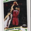 2006 TOPPS CHROME DWAYNE WADE HEAT BASE CARD