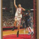 2005-06 BOWMAN YAO MING ROCKETS GOLD PARALLEL CARD