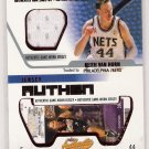 2002-03 FLEER AUTHENTIX KEITH VAN HORN 76ERS RIPPED GAME-WORN JERSEY CARD