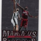 2001 STADIUM CLUB DARIUS MILES CLIPPER MAXIMUS REJECTUS INSERT CARD