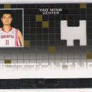2007-08 TOPPS LUXURY BOX YAO MING ROCKETS MEZZANINE RELIC CARD #'D 13/99!