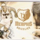 2004 SPX JASON WILLIAMS GRIZZLIES LIMTED CARD #'D 407/500!