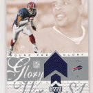 2002 UPPER DECK OVATION PEERLES PRICE BILLS BOUND FOR GLORY JERSEY CARD