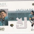 2001 UPPER DECK GAME GEAR MARK BRUNELL JAQUARS JERSEY CARD