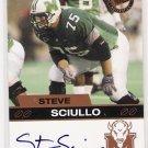 2003 PRESSPASS STEVE SCIULO AUTHENTIC AUTOGRAPHED CARD