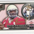 2000 PACIFIC AURORA JOE HAMILTON BUCCANEERS AUTHENTIC ROOKIE AUTOOGRAPH CARD