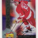 1995 SIGNATURE ROOKIES SEAN HAGGERY AUTHENTIC SIGNATURE CARD
