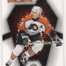 2001-02 UPPER DECK JOHN LECLAIR FLYERS MVP TALENT INSERT CARD