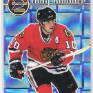 1999-00 PACIFIC PRISM TONY AMONTE BLACKHAWKS HOLOGRAPHIC MIRROR CARD #'D 132/160!