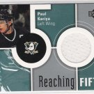2002-03 UD REACHING FIFTY PAUL KARIYA DUCKS GAME-USED JERSEY CARD