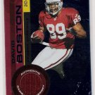 2001 PACIFIC INVINCIBLE DAVID BOSTON CARDINALS GAME WORN JERSEY CARD #'D 242/250!