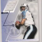 2001 DONRUSS CLASSICS TEAM COLORS STEVE MCNAIR TITANS GAME WORN JERSEY CARD