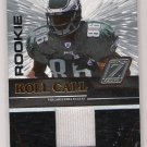 2005 ZENITH REGGIE BROWN EAGLES ROOKIE JERSEY CARD