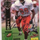 1994 SIGNATURE ROOKIES AARON MUNDY AUTHENTIC SIGNATURE CARD