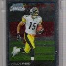 2006 BOWMAN CHROME WILLIE REID STEELERS UNCIRCULATED ROOKIE CARD