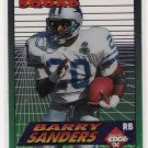 1994 COLLECTORS EDGE BARRY SANDERS LIONS BOSS SQUAD INSERT CARD