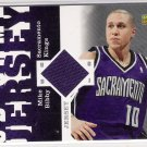 2006-07 UPPER DECK MIKE BIBBY KINGS GAME JERSEY CARD