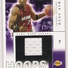 2004-05 FLEER HOOPS LAMAR ODOM LAKERS HOT MATERIALS JERSEY CARD