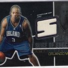 2004-05 TOPPS CHROME STEVE FRANCIS MAGIC SLICE OF SUCCESS GAME-WORN JERSEY CARD