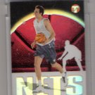 2003-04 TOPPS PRISTINE ZORAN PLANINIC NETS UNCIRCULATED ROOKIE REFRACTOR CARD