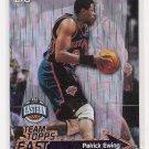 1999-00 TOPPS TEAM TOPPS PATRICK EWING KNICKS INSERT CARD