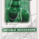 2004-05 FLEER HOT PROSPECTS AL JEFFERSON NOTABLE NEWCOMERS CARD