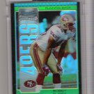 2005 BOWMAN CHROME BOBBY PURIFY 49ERS UNCIRCULATED GREEN REFRACTOR ROOKIE CARD