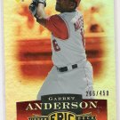 2006 UPPER DECK EPIC GARRET ANDERSON ANGELS CARD #'D 266/450!